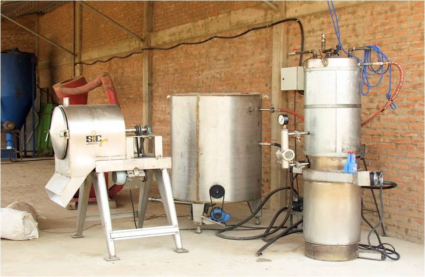 Sieve Tank Gasifier